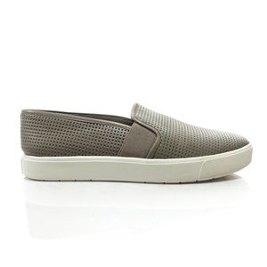 Vince Blair Perforated Slip On Sneaker Womens 8
